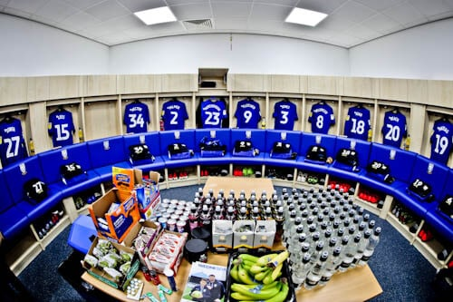 Hillsborough Stadium Tour - Sheffield Wednesday Home Team Dressing Room