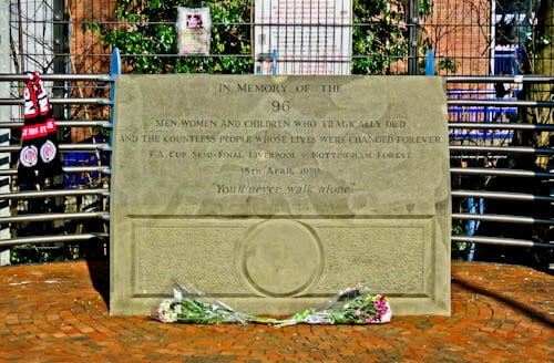 Hillsborough Stadium Disaster Memorial