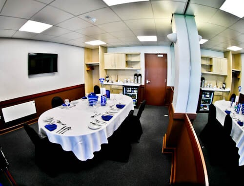 Hillsborough Stadium Tour - Sheffield - Executive Boxes