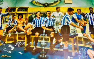 Hillsborough Stadium Tour - Sheffield Wednesday - Mural