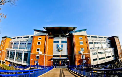 Hillsborough Stadium Tour - Sheffield - Location