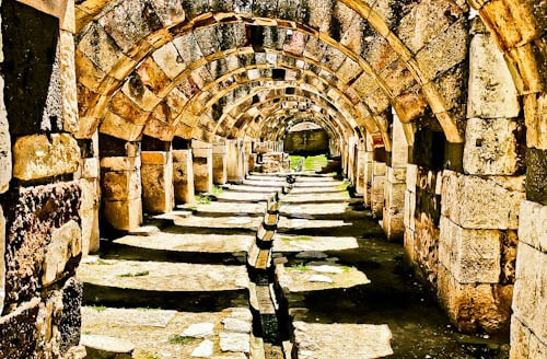 Things to do in Izmir Turkey - Smyrna Agora Ancient City