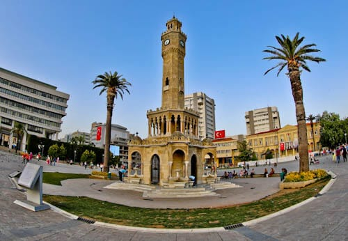 Things to do in Izmir Turkey - Izmir Clock Tower and Konak Square