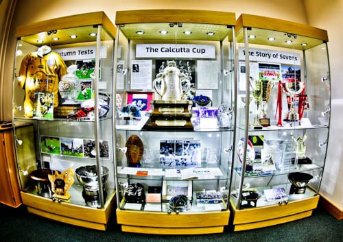 Murrayfield Stadium Tour - Edinburgh - Trophy Cabinet