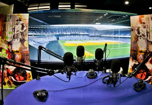 Murrayfield Stadium Tour - Edinburgh - BBC Scotland Studio