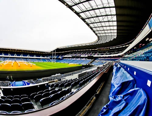 Murrayfield Stadium Tour - Edinburgh - Royal Box