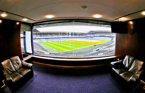 Murrayfield Stadium Tour - Edinburgh - VIP Boxes
