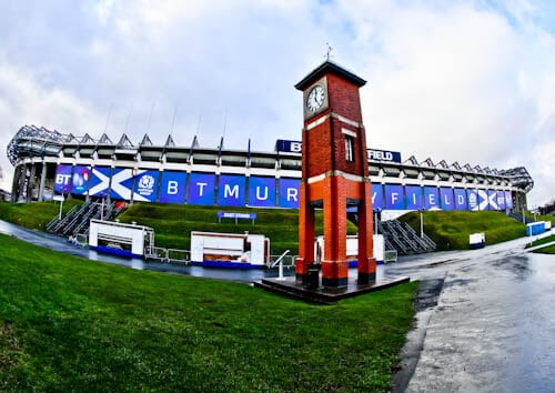 Murrayfield Stadium Tour - Edinburgh - Location
