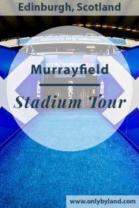 Murrayfield Stadium Tour – Edinburgh – Scotland Rugby