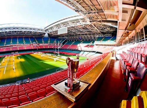 Principality Stadium Tour - Cardiff - President's Box