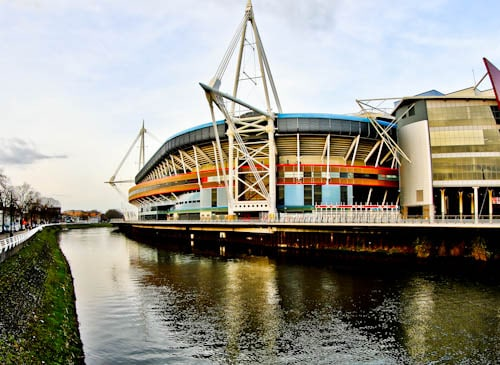 Principality Stadium Tour - Cardiff - Location