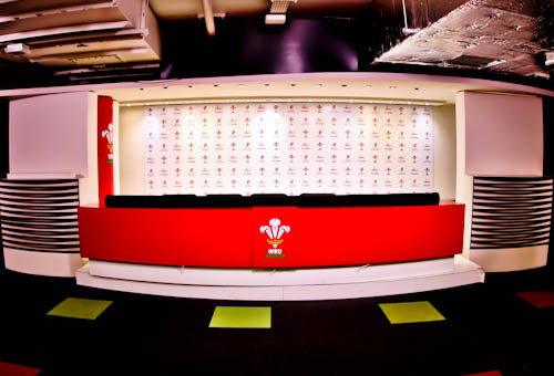 Principality Stadium Tour - Cardiff - Press Room