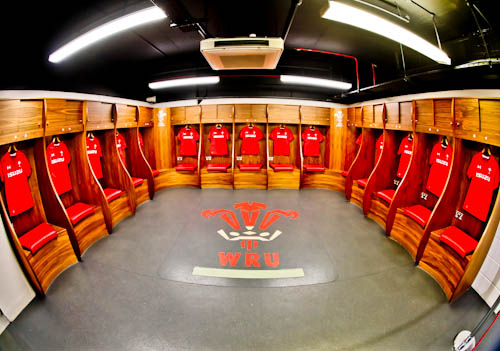 Principality Stadium Tour - Cardiff - Home Team Dressing Room