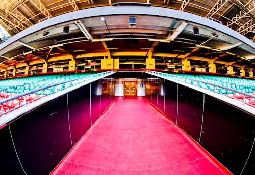 Principality Stadium Tour - Cardiff - Players Tunnel