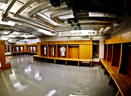 Principality Stadium Tour - Cardiff - Away Team Dressing Room