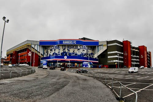 Ibrox Stadium - Rangers Club Shop