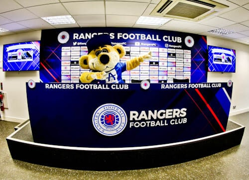 Ibrox Stadium - Rangers Press Room