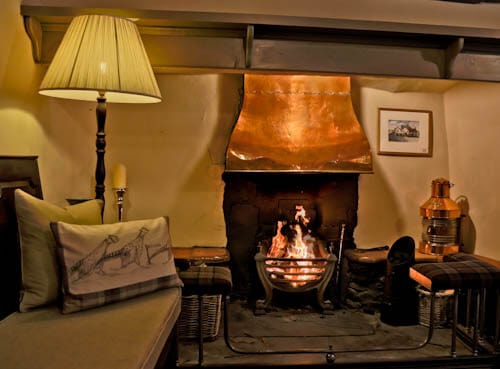 The West Arms - Hotels in North Wales - Fireplace