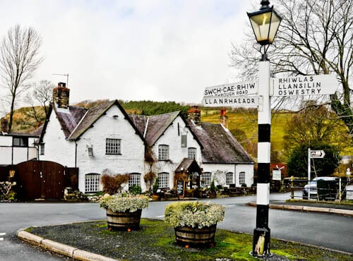 The West Arms - Hotels in North Wales - Location
