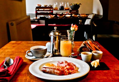 The West Arms - Hotels in North Wales - Complimentary Breakfast