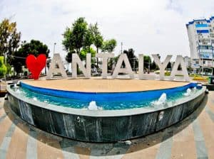 Things to do in Antalya - Antalya Sign