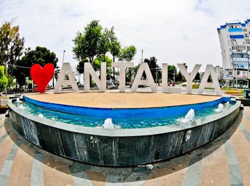 Things to do in Antalya - Antalya Sign