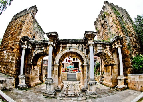 Things to do in Antalya Turkey - Hadrian's Gate