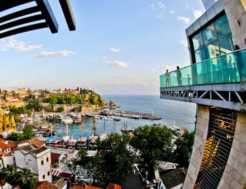 Things to do in Antalya Turkey - Panoramic Elevator