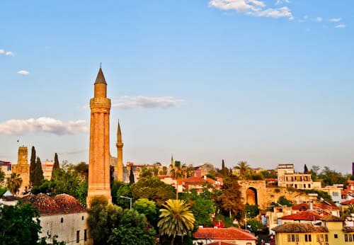 Things to do in Antalya Turkey - Fluted Minaret