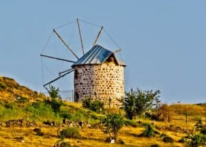 Things to do in Bodrum Turkey - Windmills