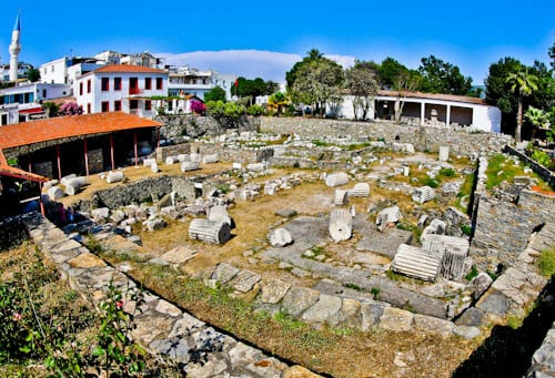 Things to do in Bodrum Turkey - Mausoleum at Halicarnassus