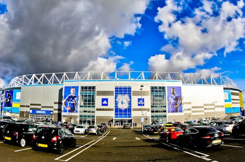 Cardiff City Stadium Tour - Location
