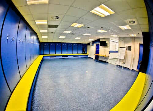 Cardiff City Stadium Tour - Away Team Dressing Room