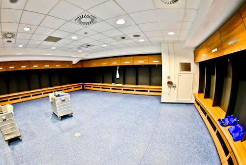Cardiff City Stadium Tour - Home Team Dressing Room
