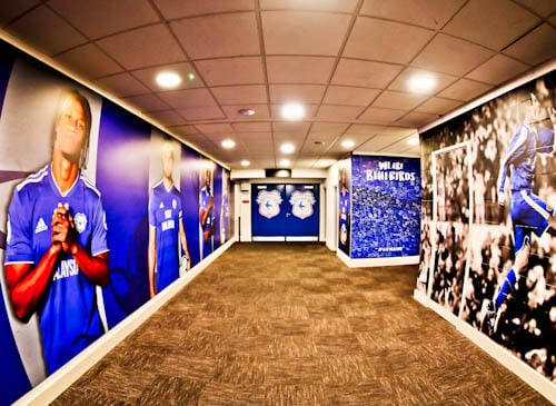 Cardiff City Stadium Tour - Players Tunnel