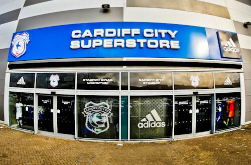 Cardiff City Football Club Superstore