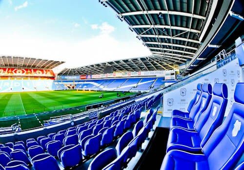 Cardiff City Stadium Tour - Directos Box