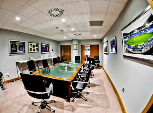 Cardiff City Stadium Tour - Boardroom