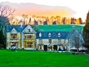 Lords of the Manor - Luxury Hotel Cotswolds - Sunset