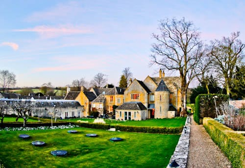 Lords of the Manor - Luxury Hotel Cotswolds - Rear Garden