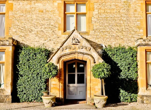 Lords of the Manor - Luxury Hotel Cotswolds - Historic Entrance