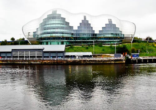 Newcastle Attractions - Sage Gateshead