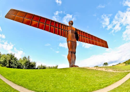 Newcastle Attractions - Angel of the North
