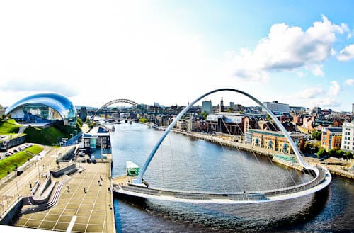Newcastle Attractions - Historic Quayside