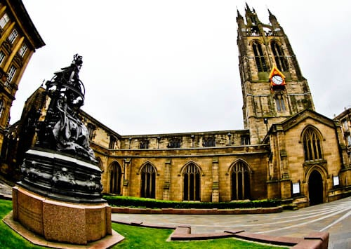 Newcastle Attractions - Sir Nicholas Cathedral