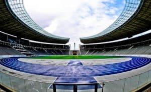 Olympiastadion - Berlin Olympic Stadium Tour - Running Track