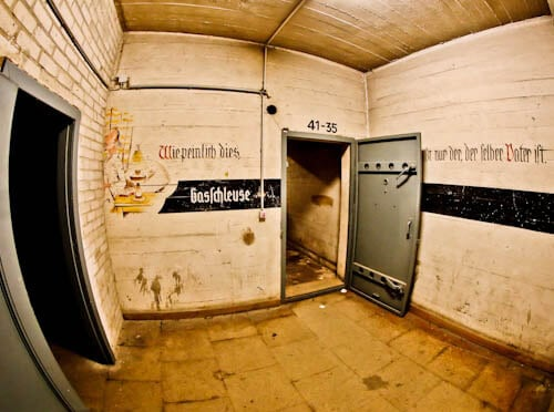 Hitler's Abandoned Tempelhof Airport - Nazi Architecture - Berlin - Entrance to Hidden Area