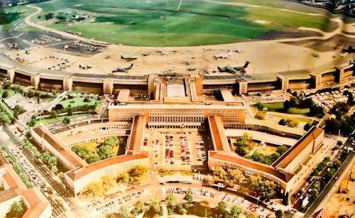 Hitler's Abandoned Tempelhof Airport - Nazi Architecture - Berlin - US Air Base