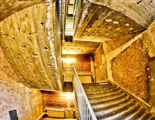 Hitler's Abandoned Tempelhof Airport - Nazi Architecture - Berlin - Staircases