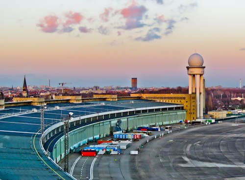 Hitler's Abandoned Tempelhof Airport - Nazi Architecture - Berlin
